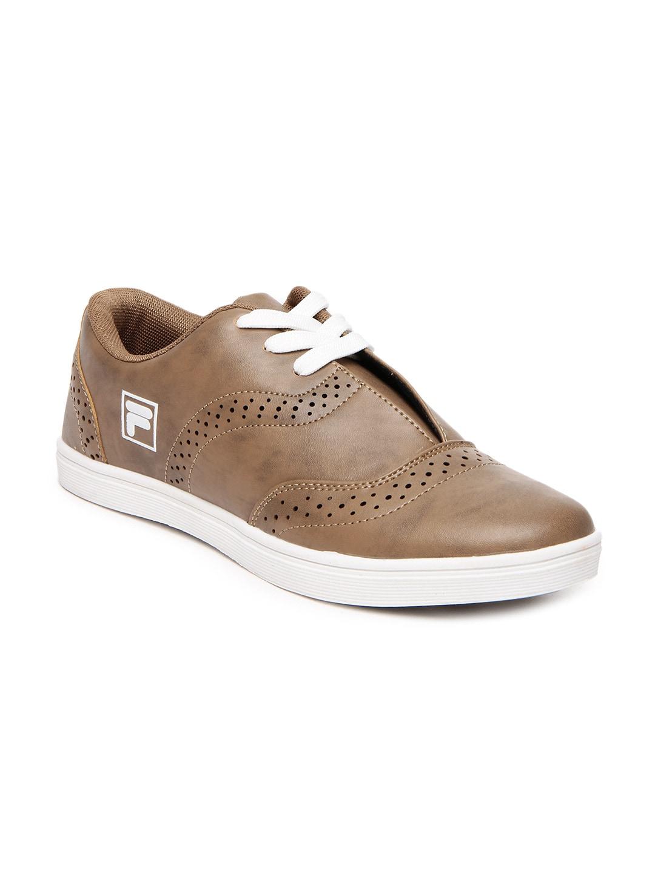Buy Fila Men Brown Kanio Casual Shoes 1422297 for men online in ... 4cf010612b06