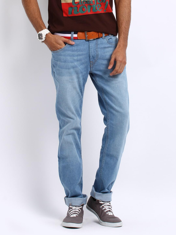 Flying Machine Men Blue Michael Slim Fit Jeans