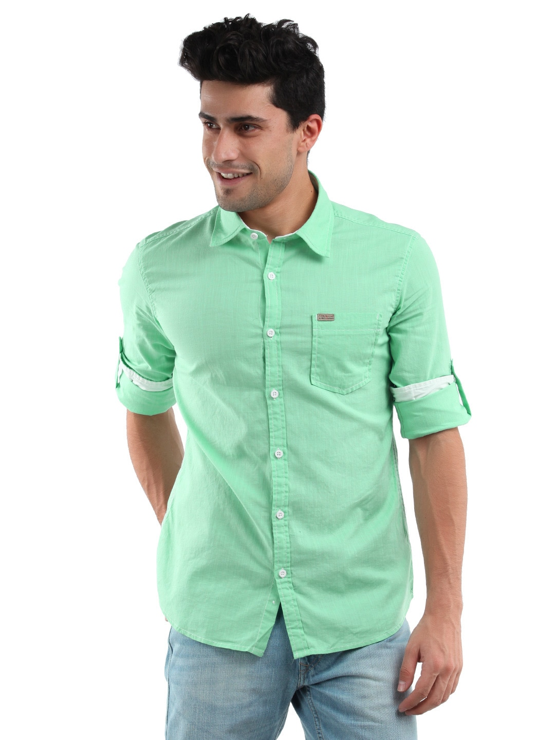 mint green shirt for men artee shirt