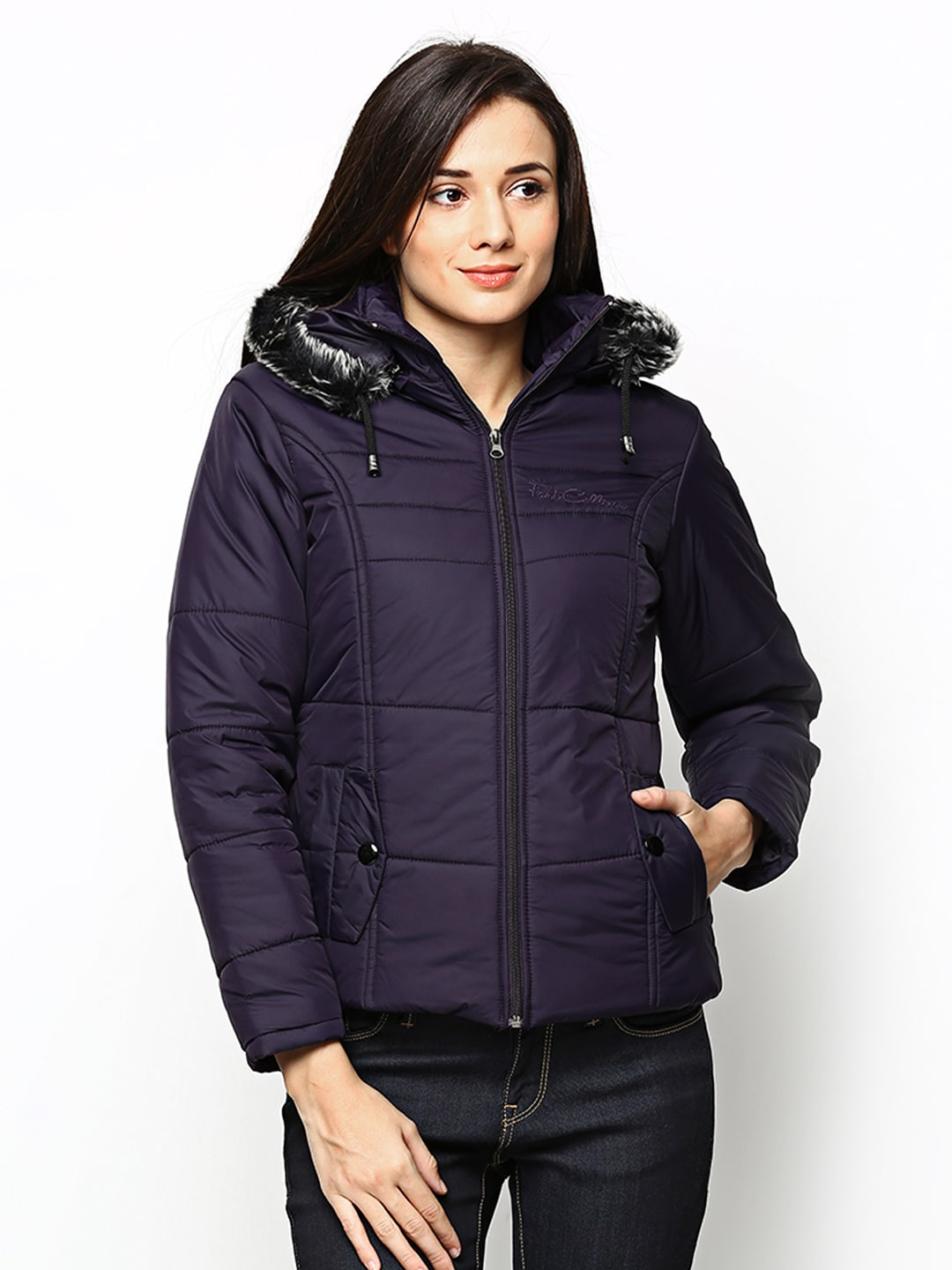 Fort Collins Women Purple Padded Jacket
