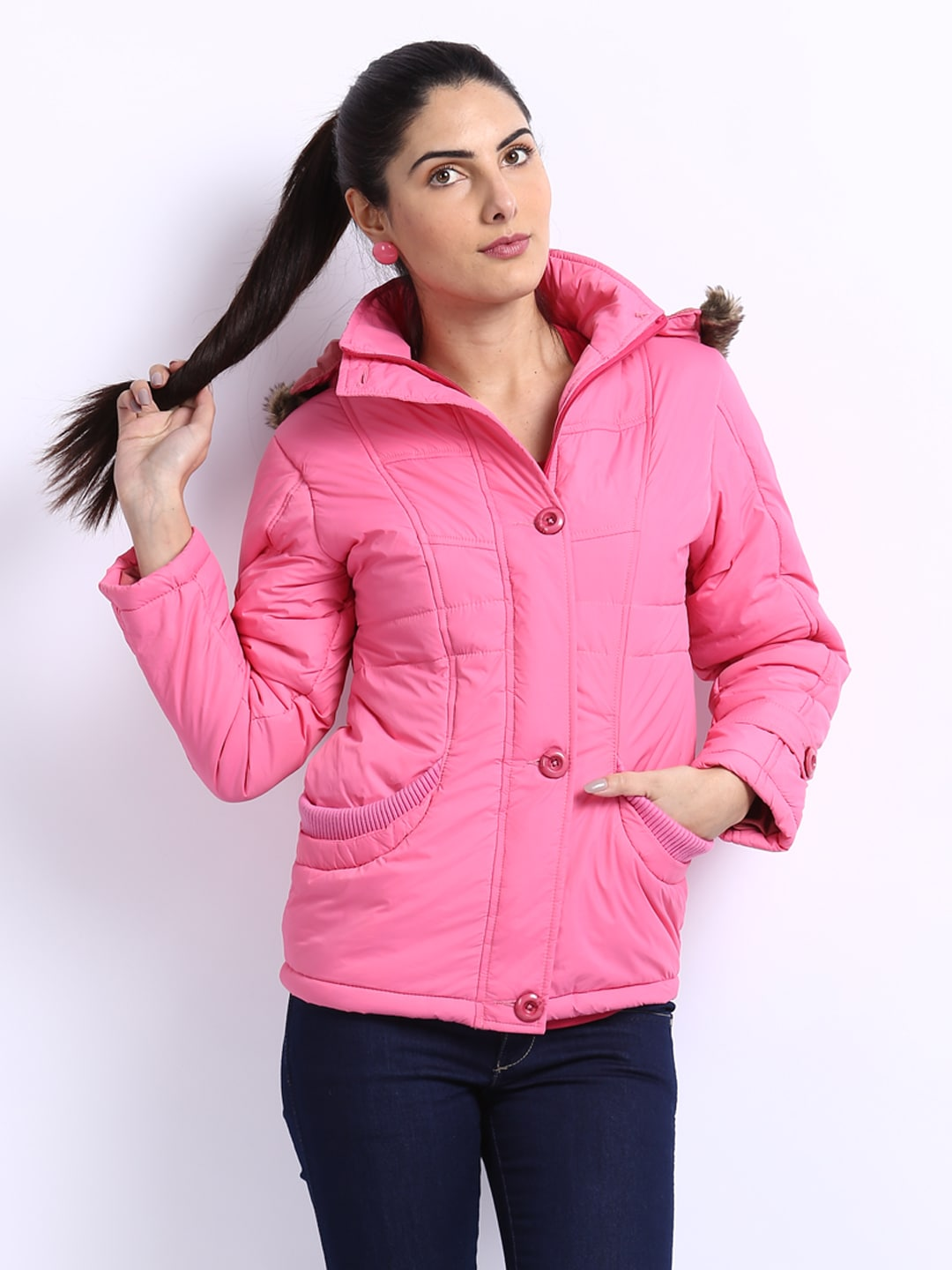 fort collins women pink padded jacket