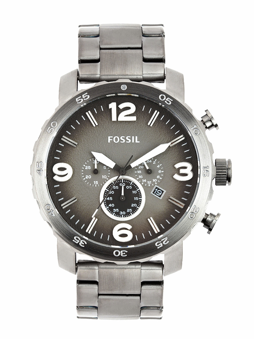 Fossil Men Grey Dial Chronograph Watch JR1437I