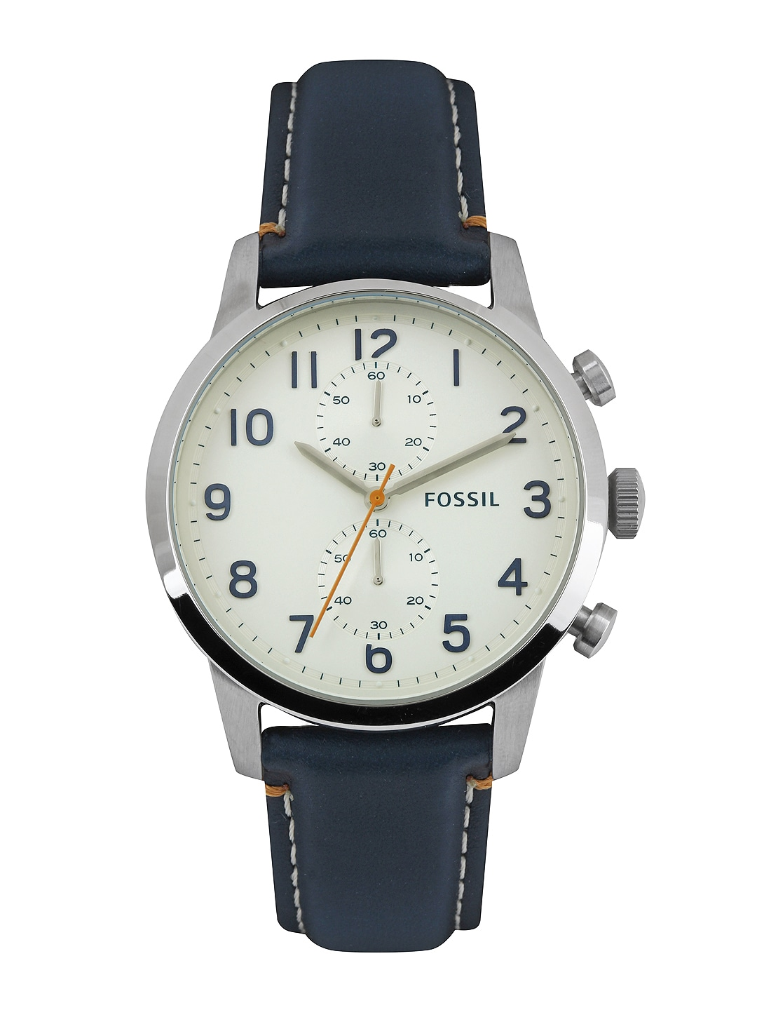 Fossil Fossil Men Off-White Watch FS4932I (Multicolor)