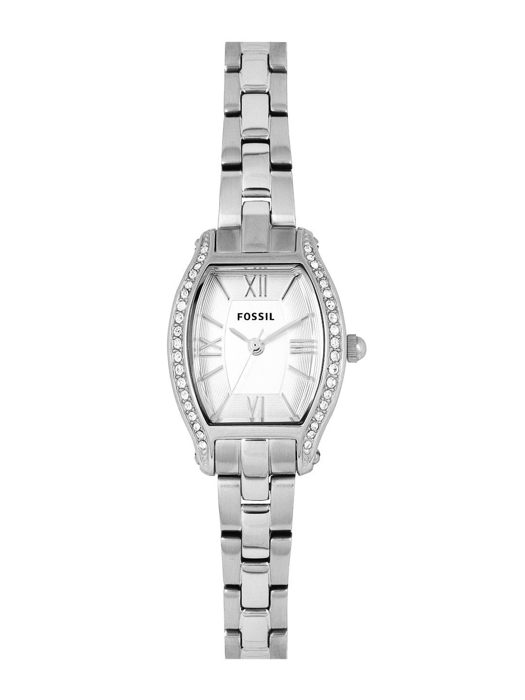 Fossil Fossil Women Silver-Toned Dial Watch ES3285I