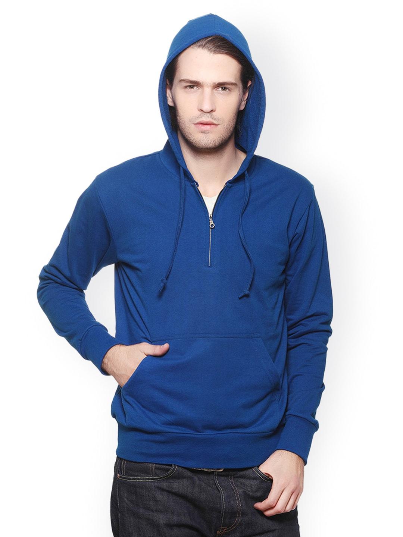 GRITSTONES Men Blue Sweatshirt