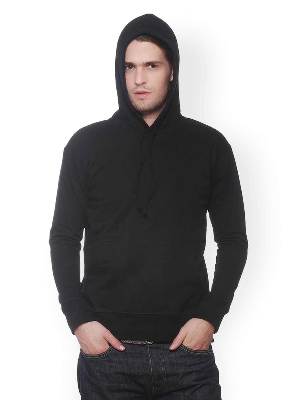 GRITSTONES Men Black Sweatshirt
