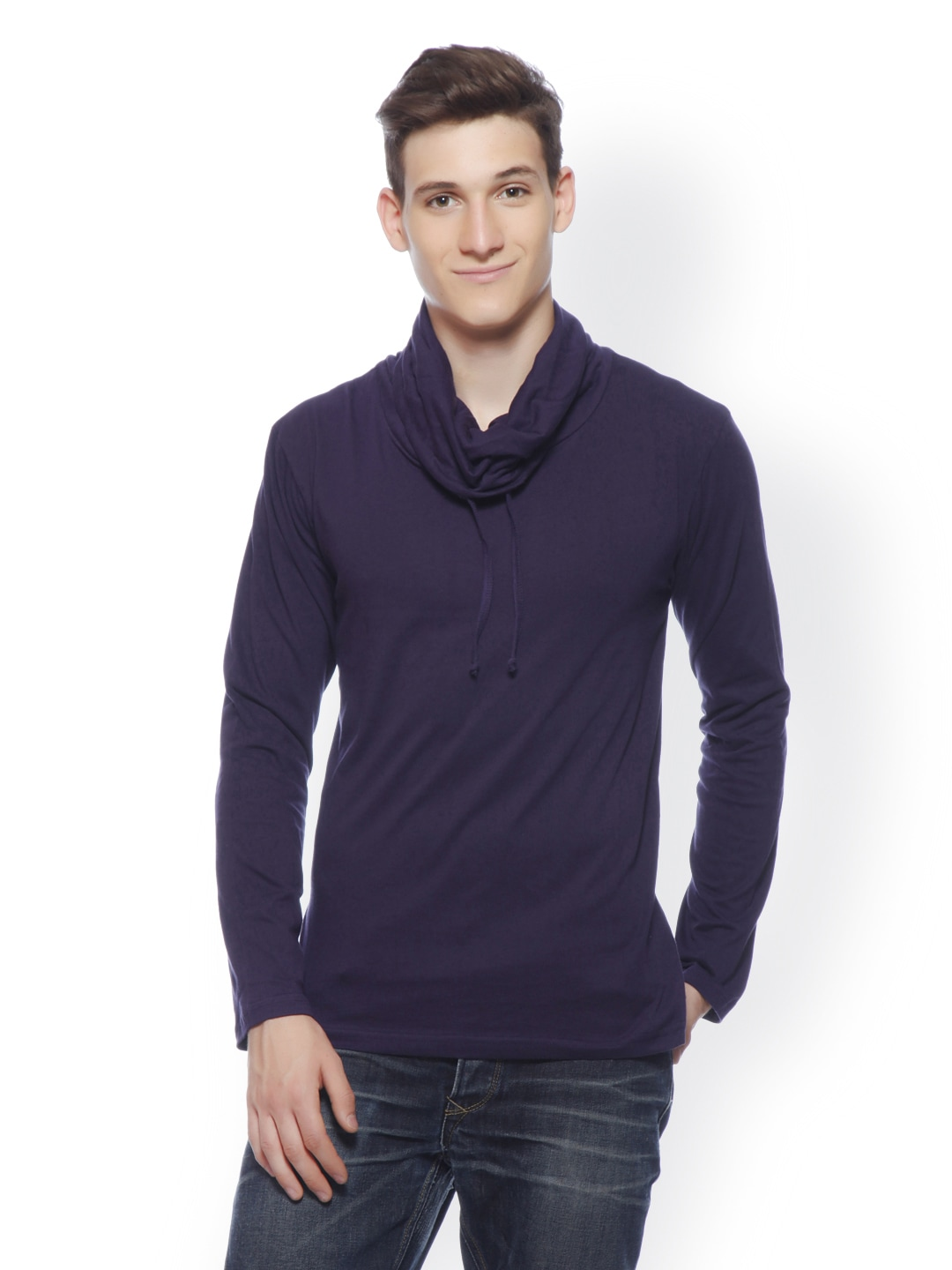 416467a499f9a2 Cowl Neck Men - Buy Cowl Neck Men online in India