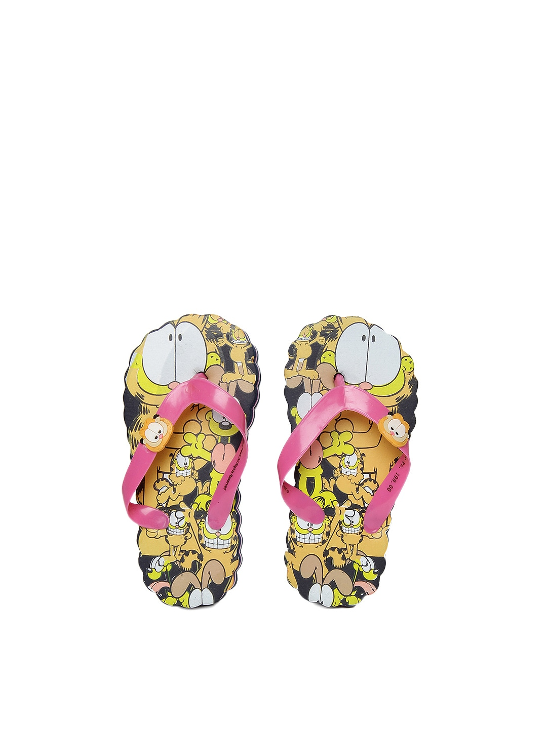 Garfield Garfield Kids Pink Flip Flops (Multicolor)