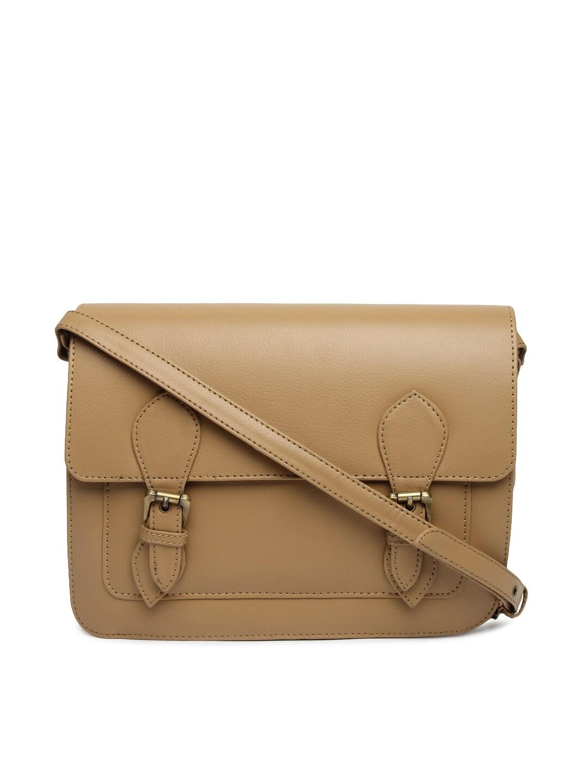 Gauge Machine Brown Sling Bag