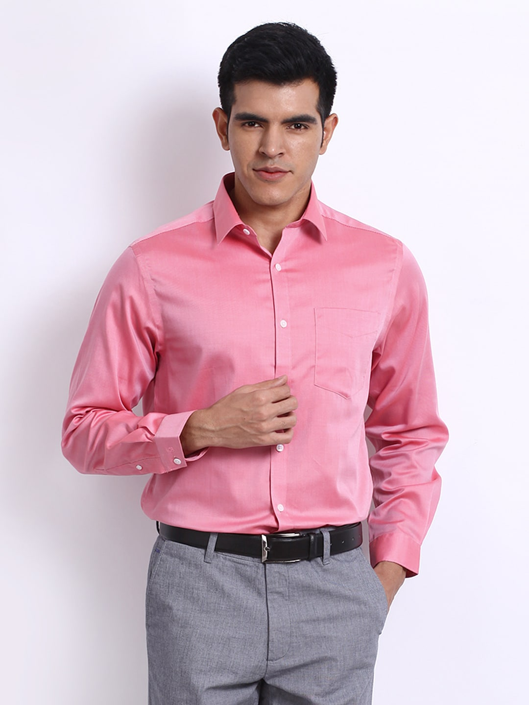 Pink shirt formal artee shirt for Tuxedo shirt vs dress shirt