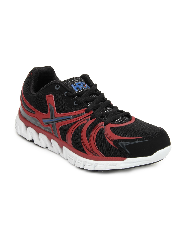 Good Watch Brands For Men >> Buy HRX Men Black & Red Sports Shoes - 634 - Footwear for ...