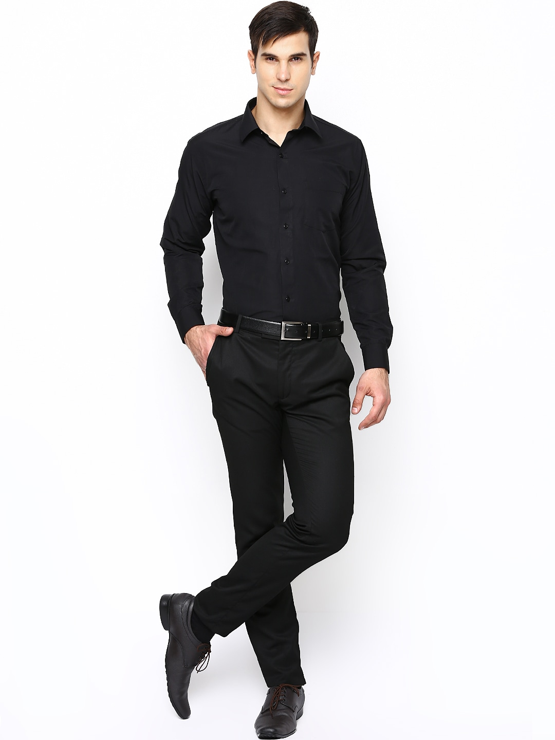 Formal dress for men all dress for Black tuxedo shirt for men