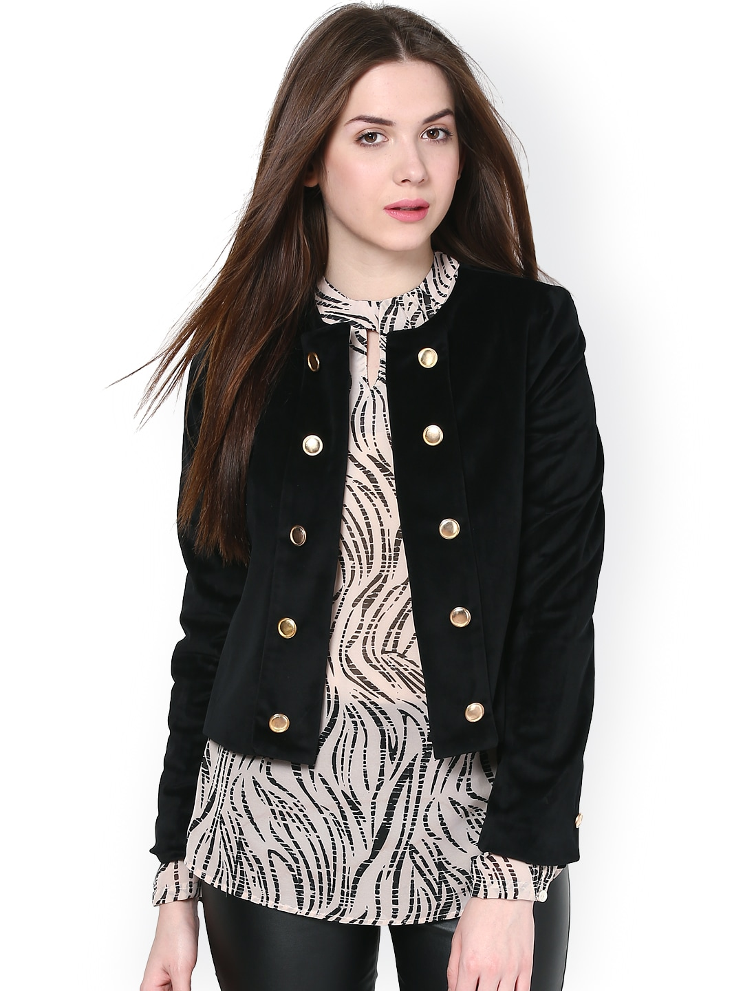 Harpa Harpa Women Black Jacket