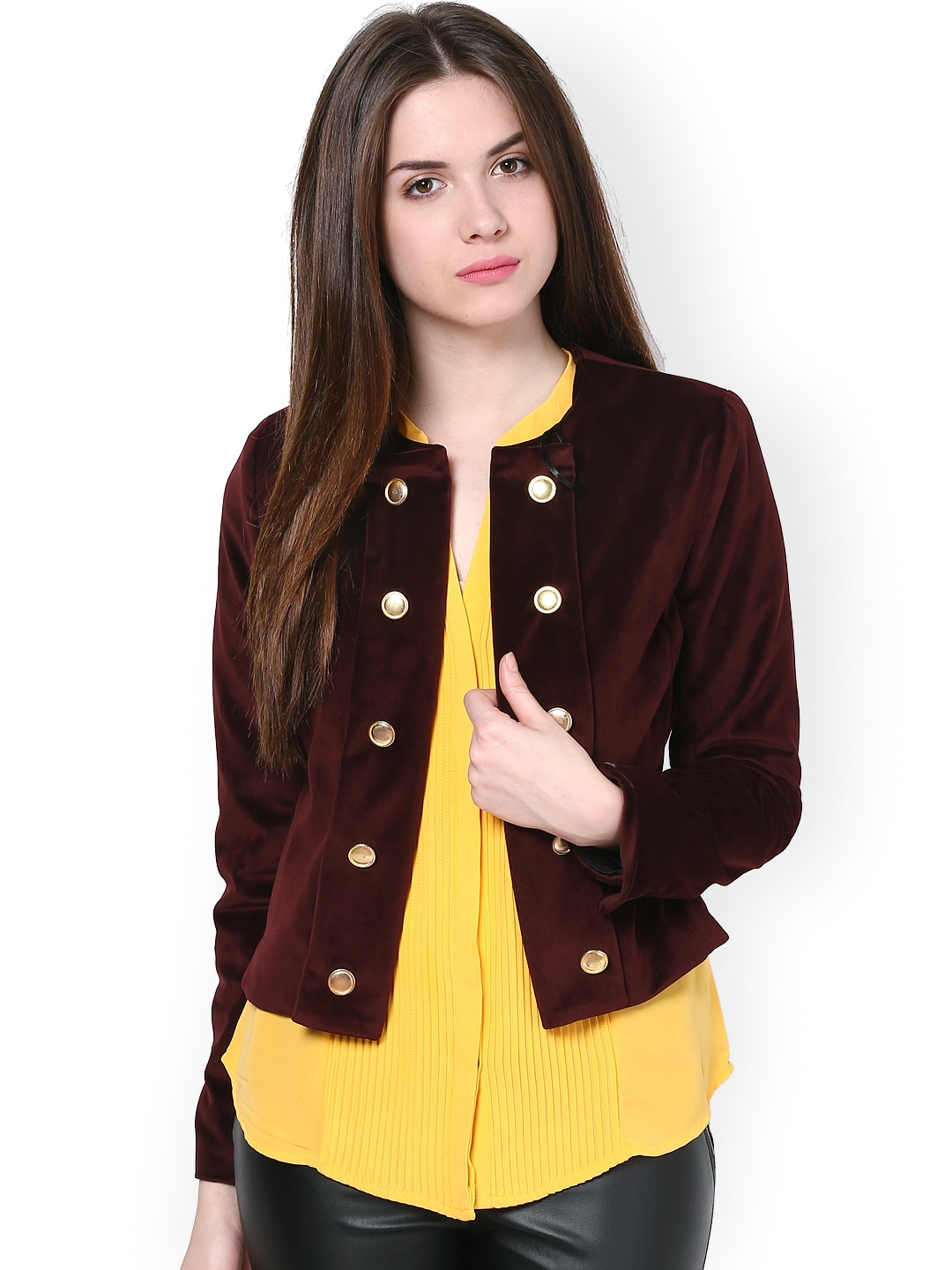 Harpa Harpa Women Brown Jacket