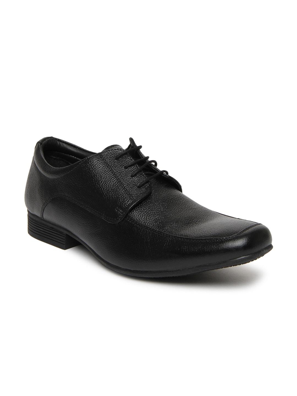 Hush Puppies Men Black Formal Shoes