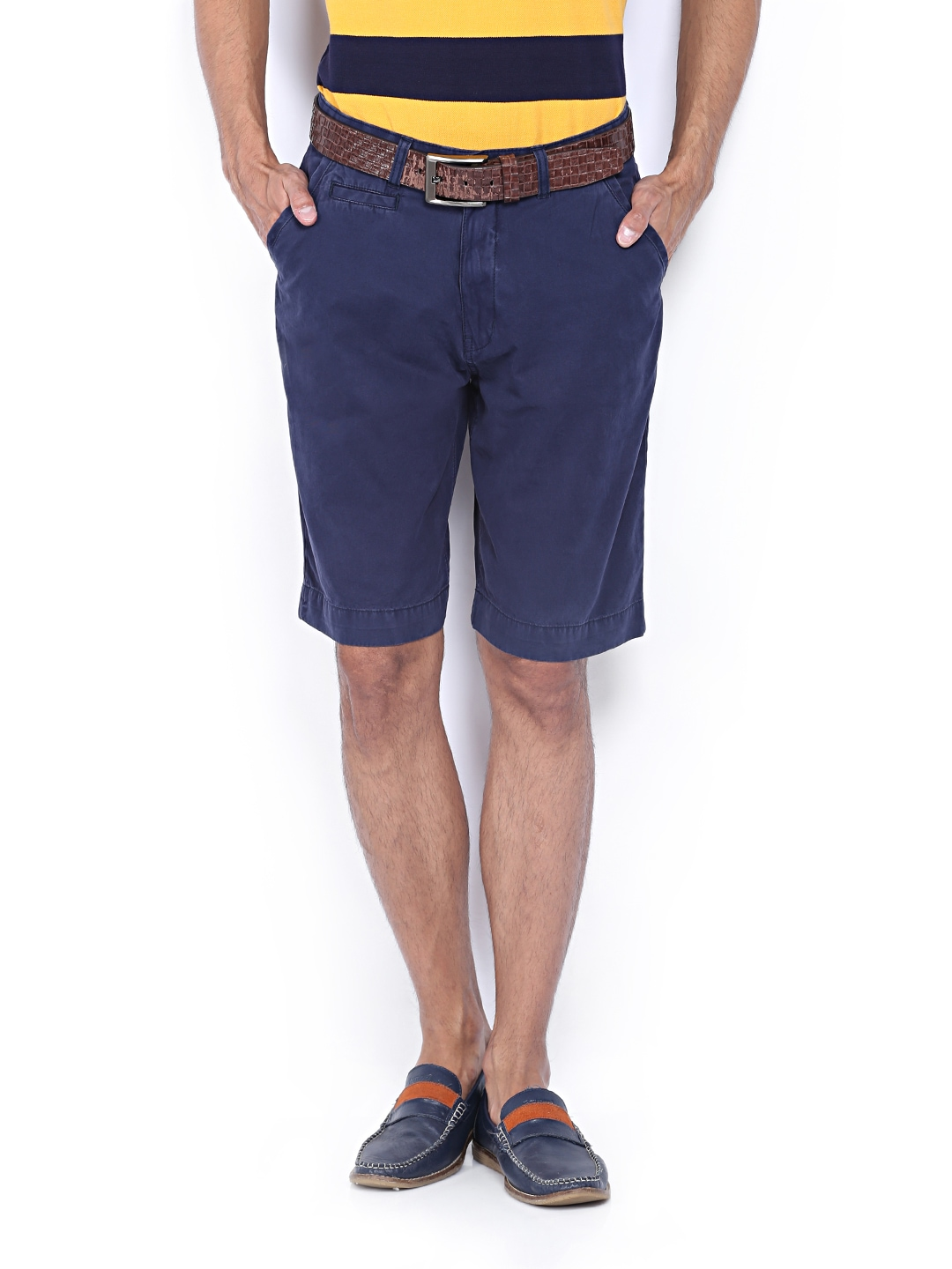 IZOD Men Navy Shorts