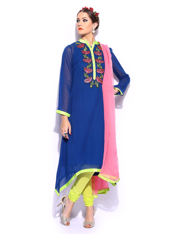 Indian With Kurta By Arora Blueamp; Women Green Buy Manish Churidar OkZXiPu