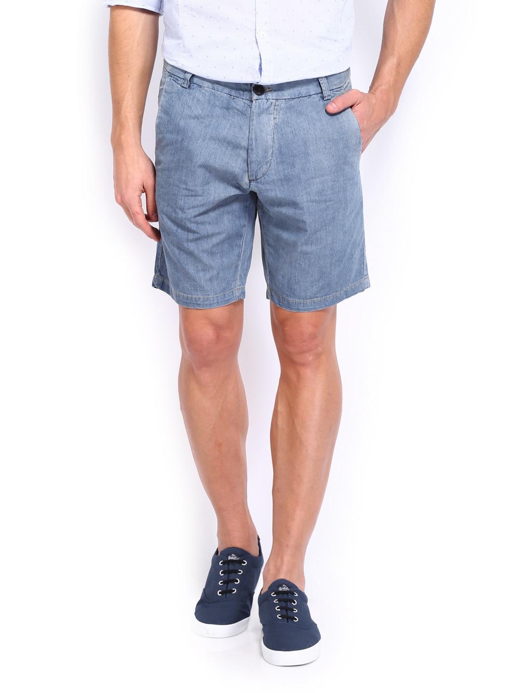 Jack & Jones Men Blue Shorts