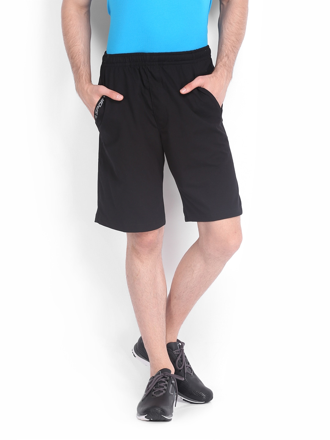 Jockey Men Black Shorts