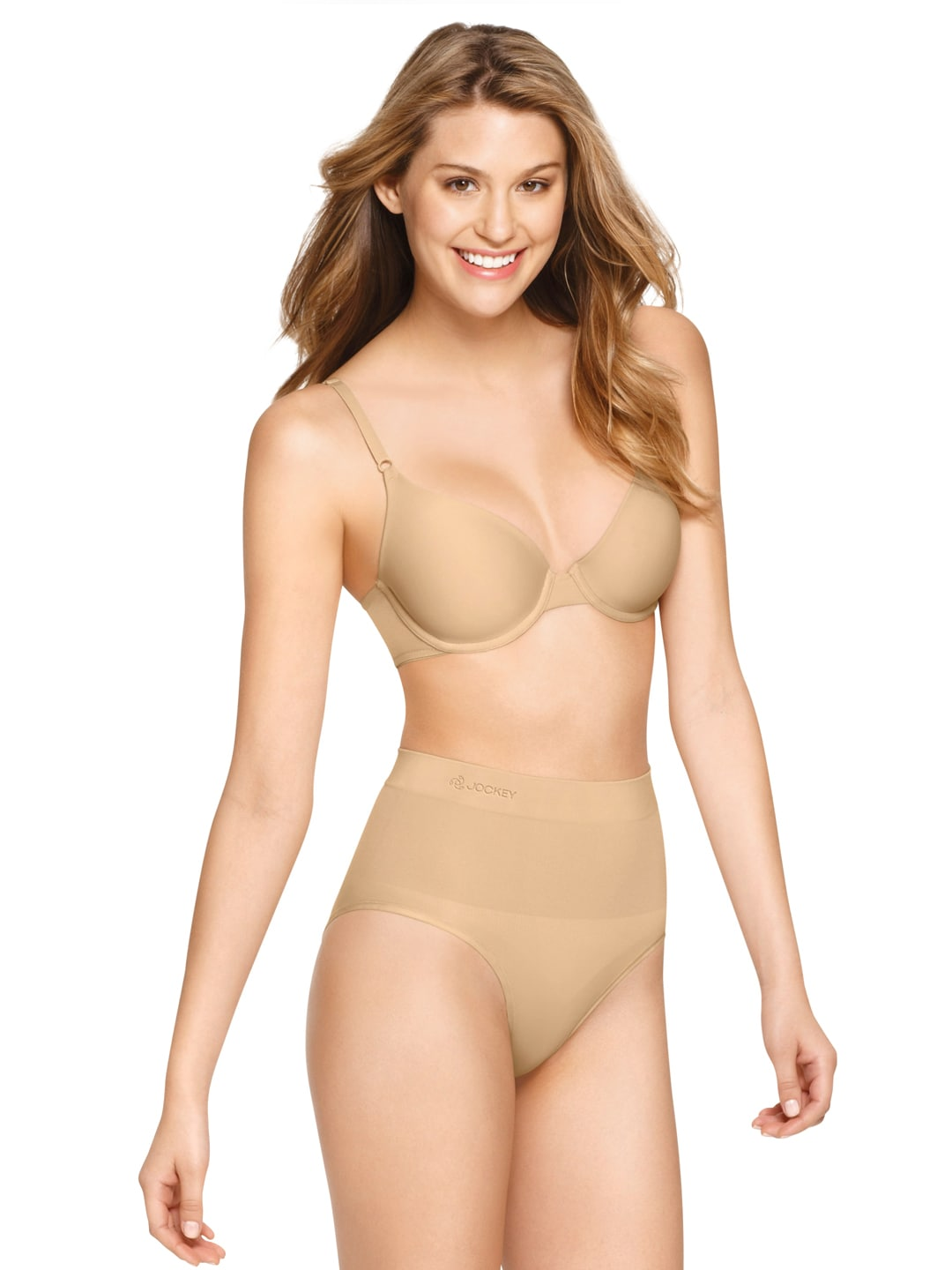 Jockey Skin-Coloured Seamless Shaping Bikini Shapewear 6702