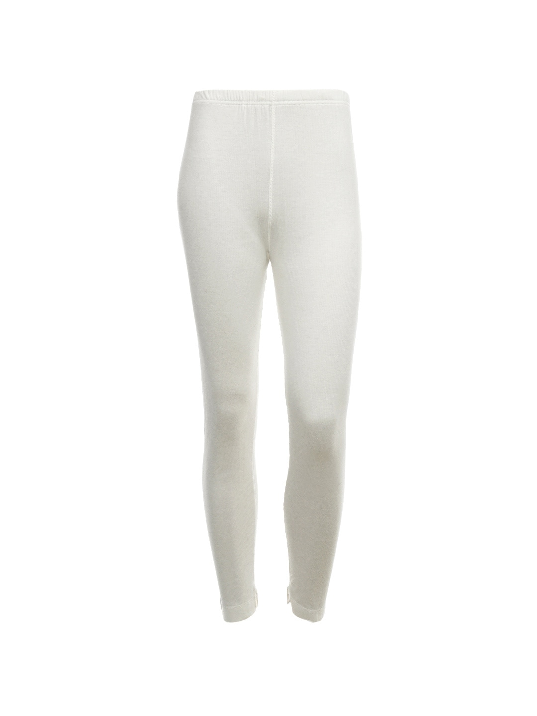 Jockey Women Cream Thermal Leggings