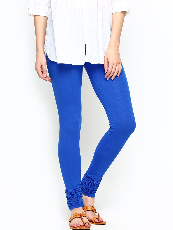 Jockey Women Blue Churidar Leggings