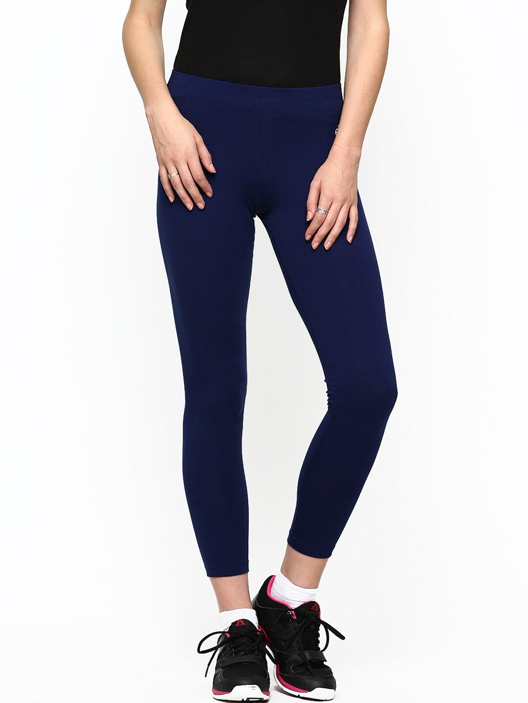 Jockey Women Blue Leggings