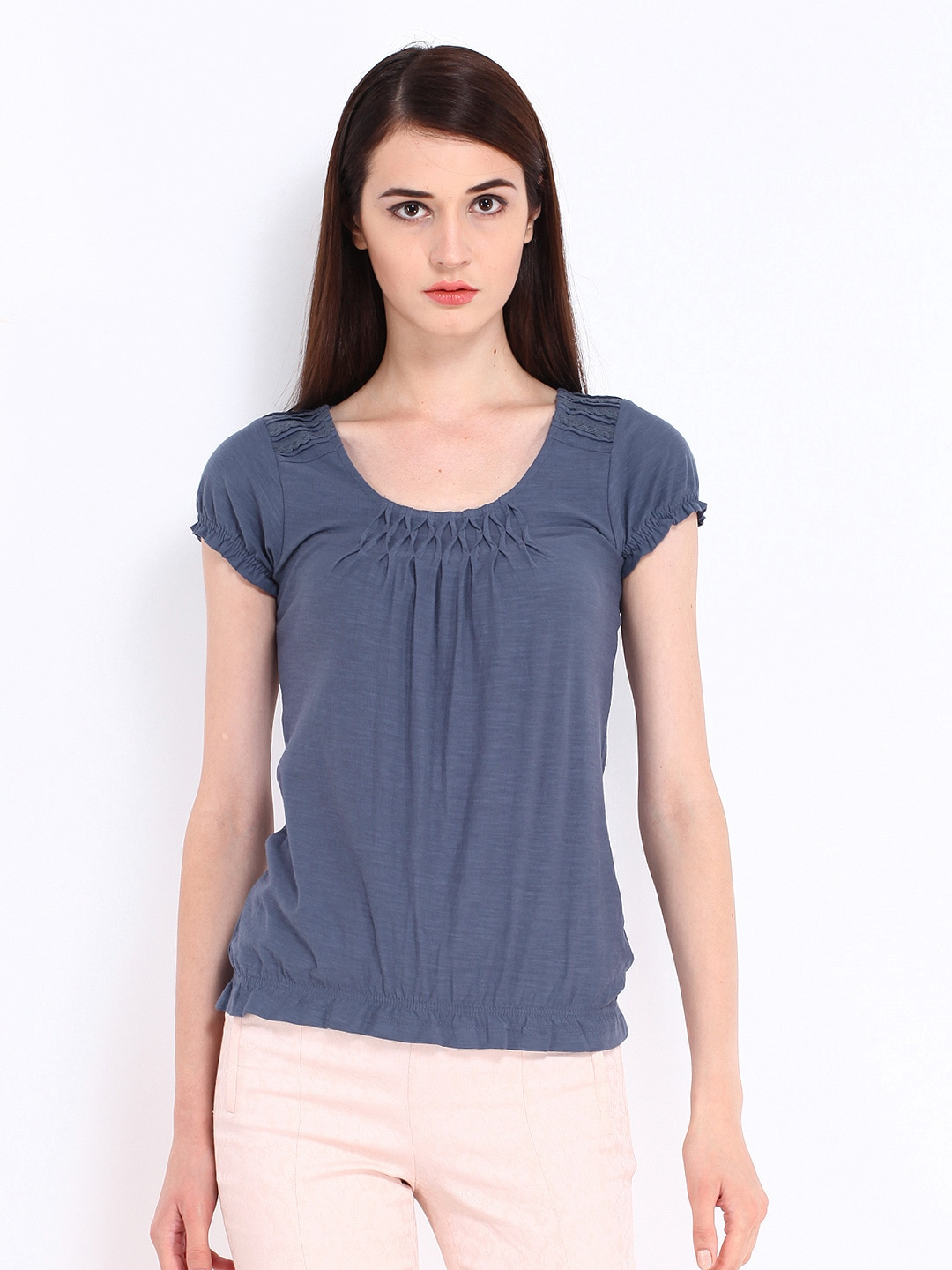 Buy John Rocha By Debenhams Women Grey Top - Tops for ...