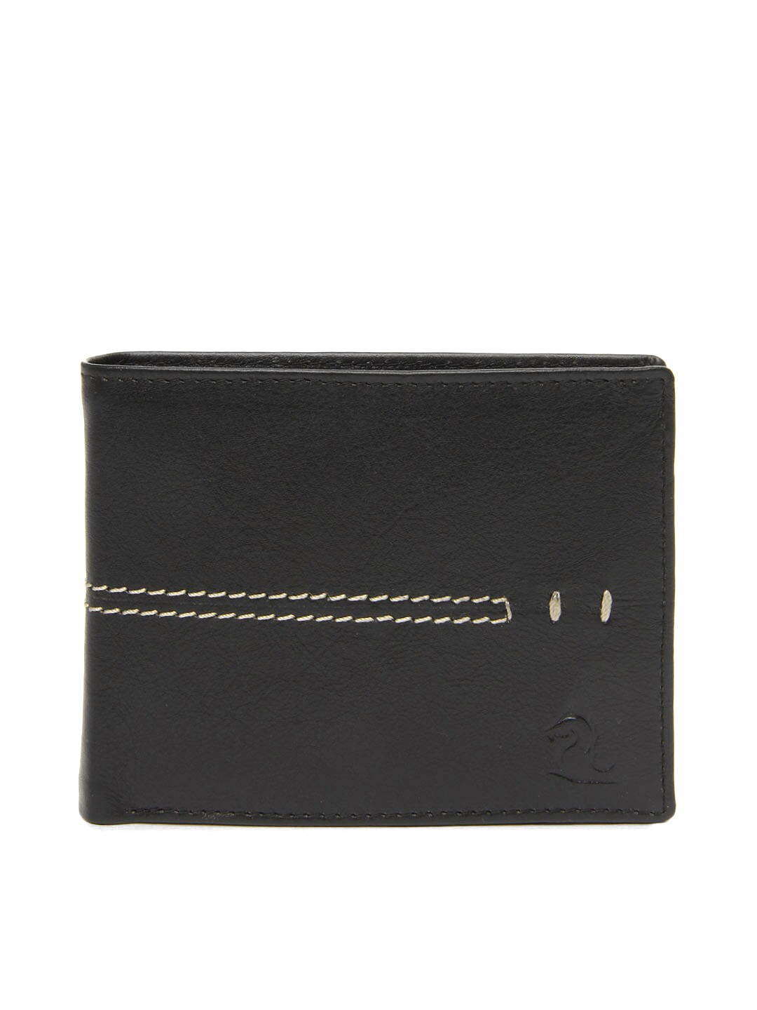 Kara Men Black Leather Wallet