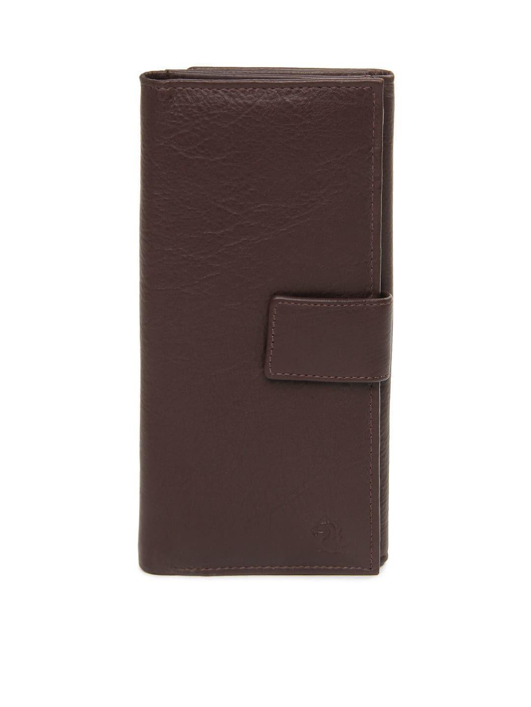 Kara Women Brown Leather Wallet