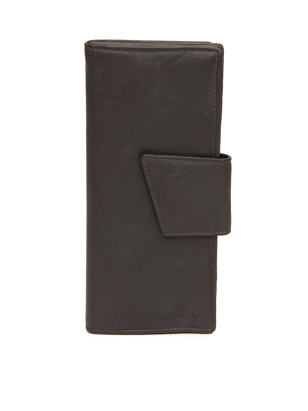Kara Women Brown Leather Wallet