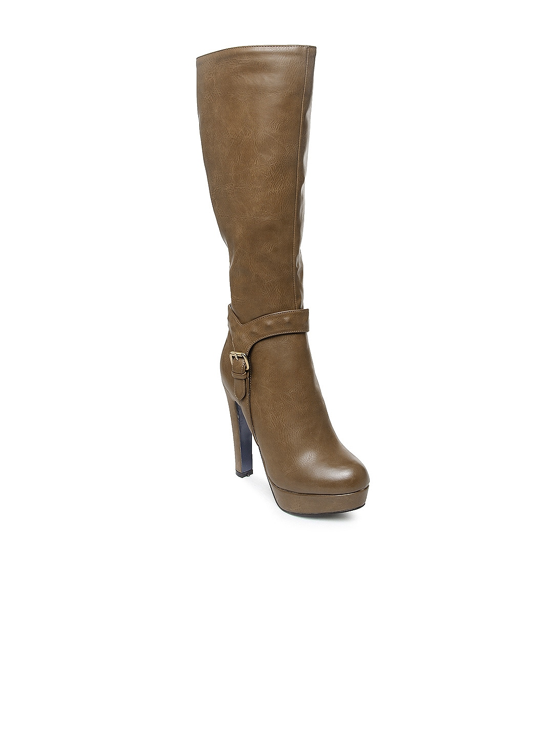 Kiss Kriss Women Brown Boots