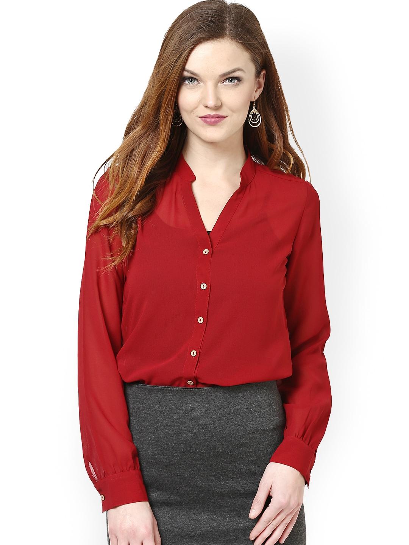 buy la zoire maroon shirt 320 apparel for