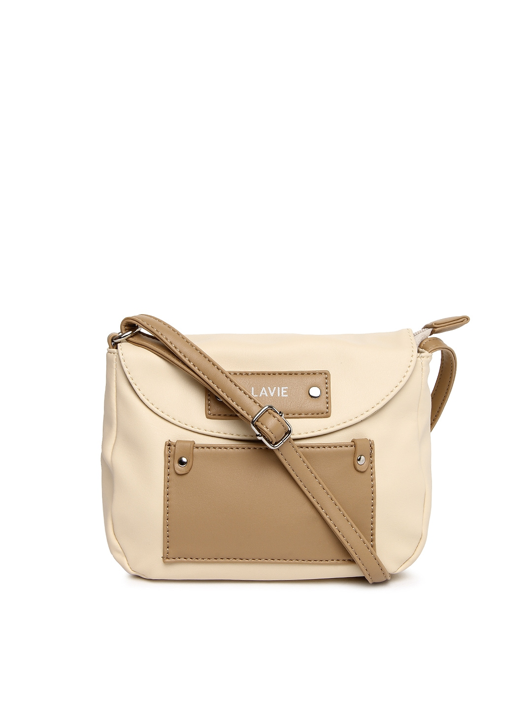 Buy Lavie Peach Coloured Sling Bag - Handbags for Women | Myntra