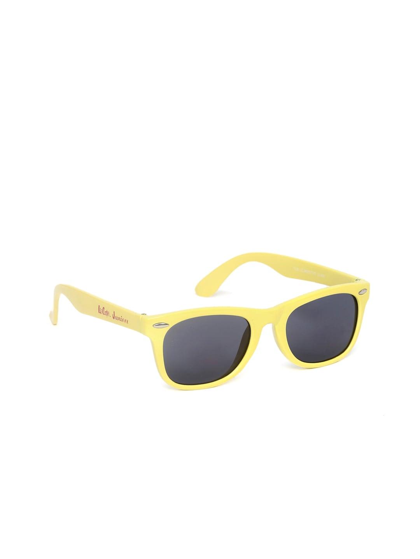 Lee Cooper Juniors Kids Wayfarer Sunglasses LC Junior THB 8500 YLW