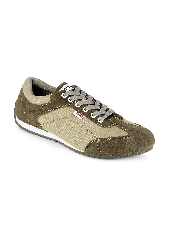 Levis Men Beige Casual Shoes