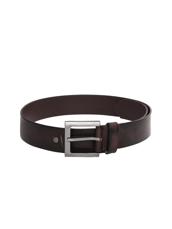Levis Men Brown Leather Belt