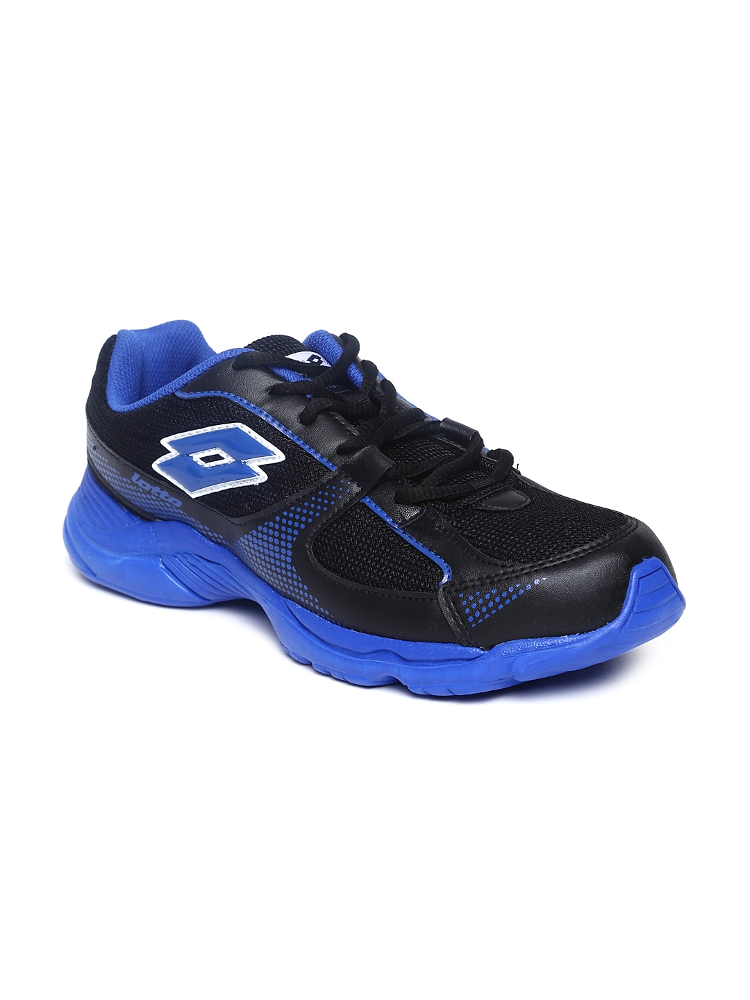 Lotto Men Black Pounce Running Shoes