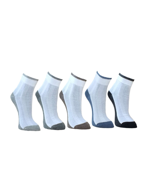 MARC Men Pack of 5 White Socks