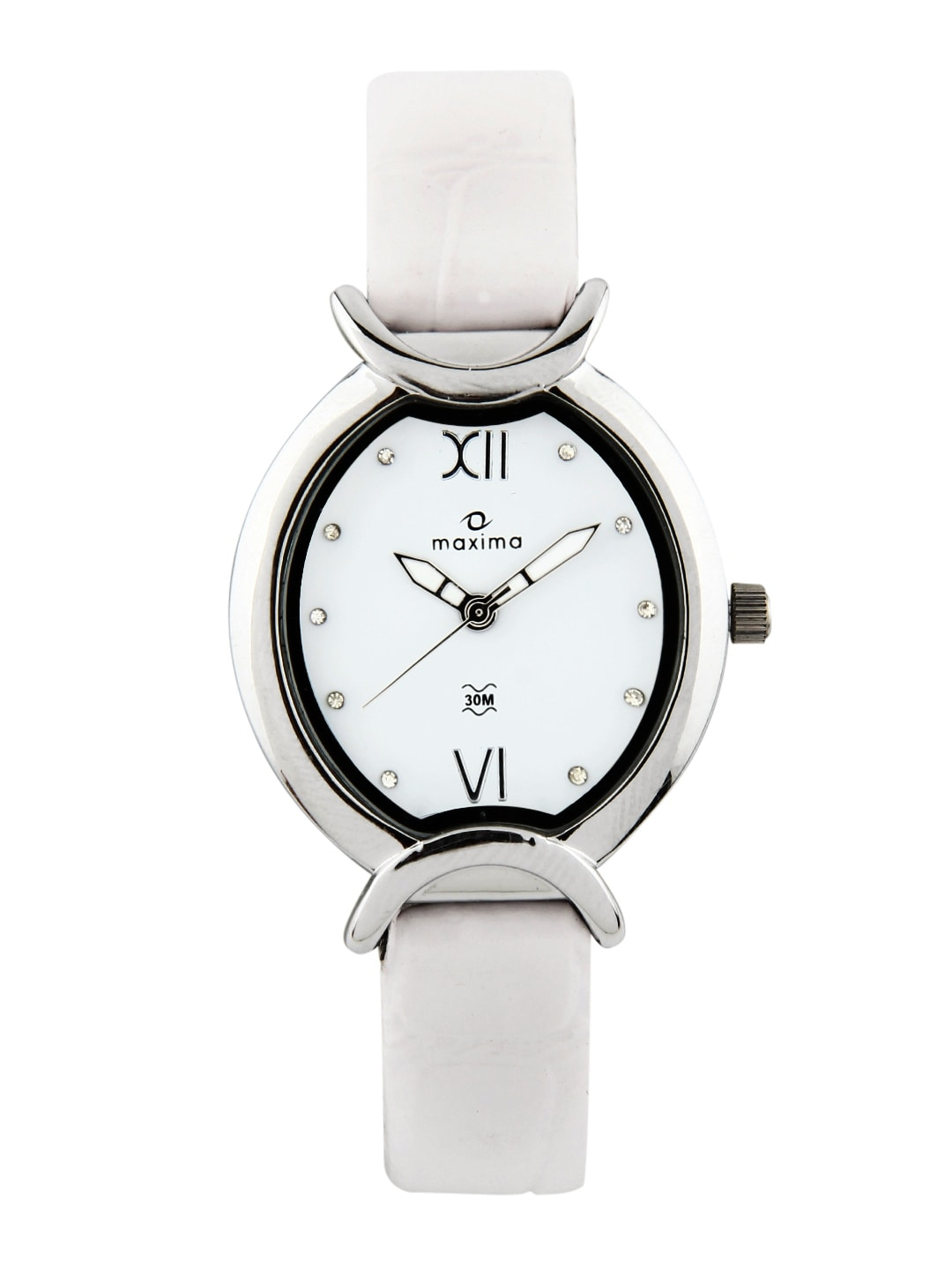 Maxima Attivo Women White Watch