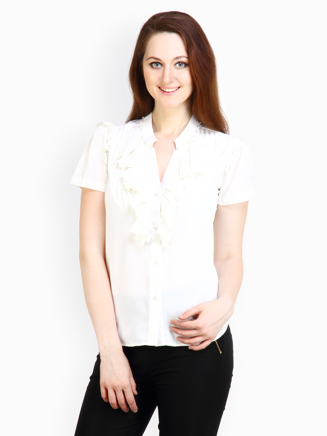Style Tribe Womens White top at Sears.com