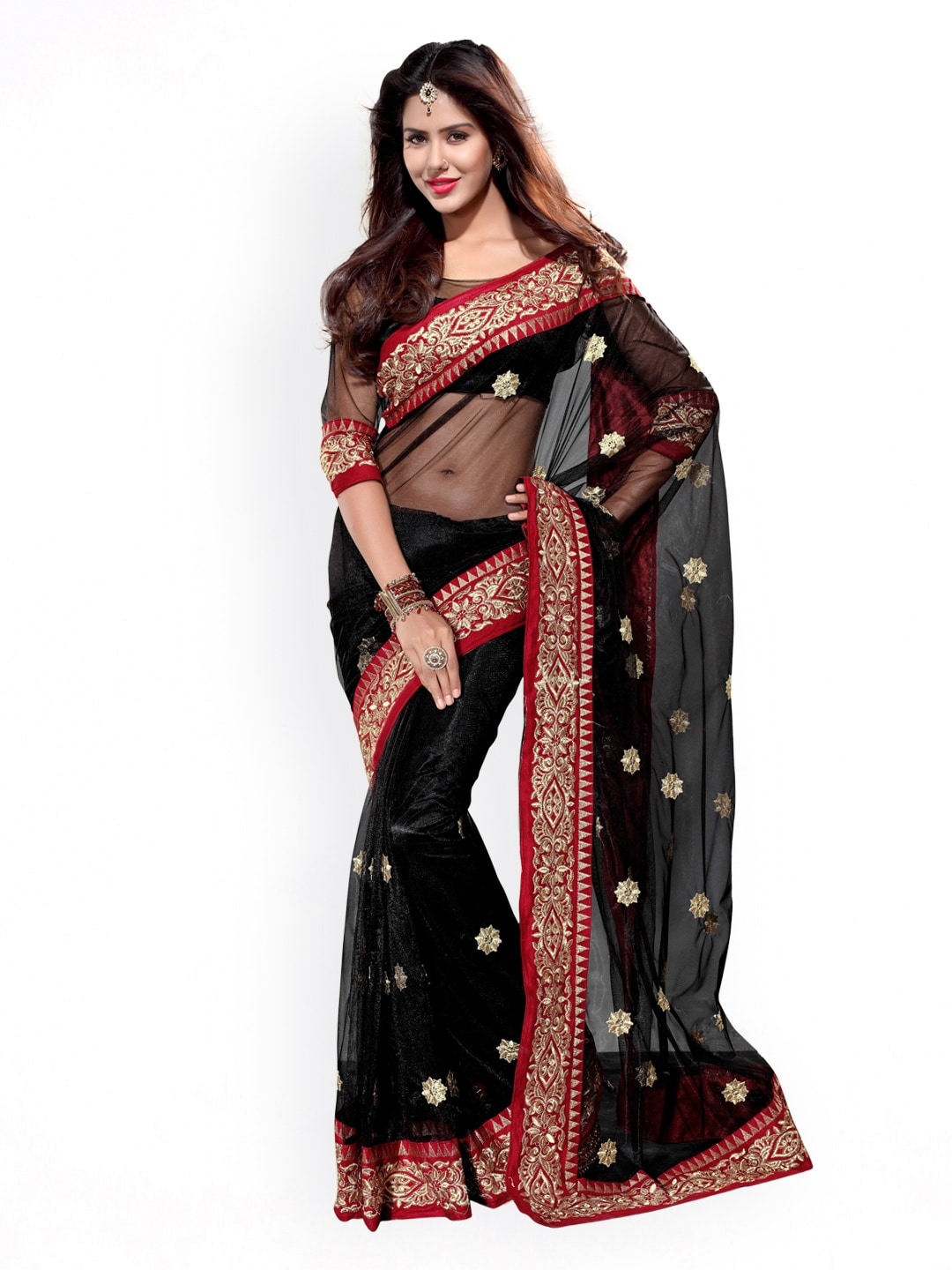 771f7788a64dc Mirchi Fashion Women Saree - Buy Mirchi Fashion Women Saree online in India