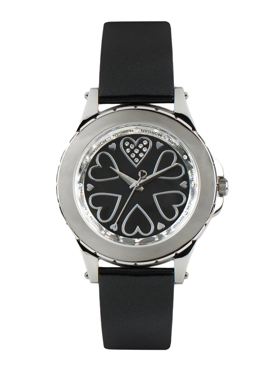 Morgan Women Black Dial Watch