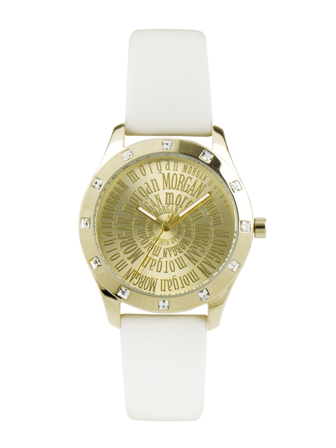 Morgan Women Gold Toned Watch