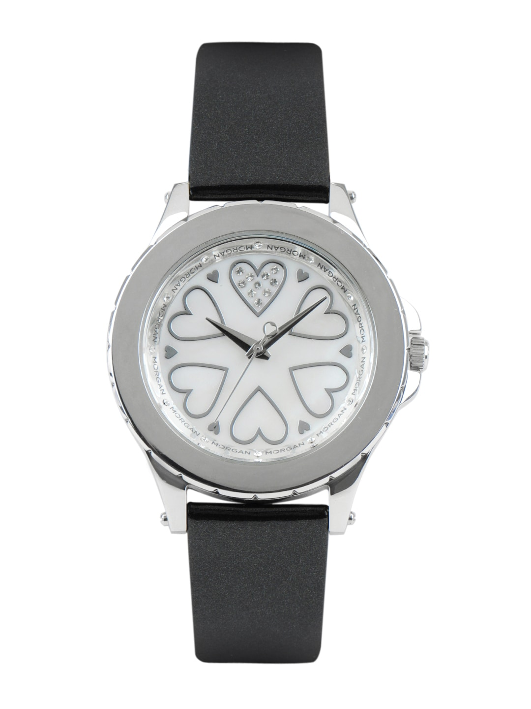 Morgan Women White Dial Watch