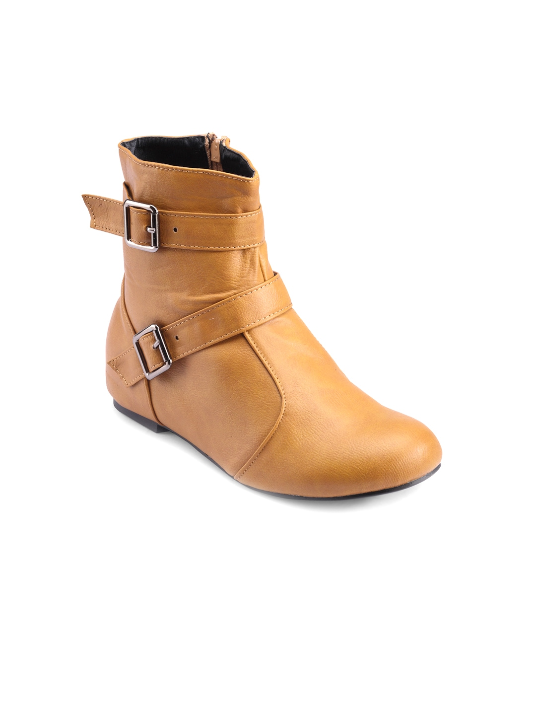 Nell Nell Women Tan Brown Boots (Beige\/Sand\/Tan)