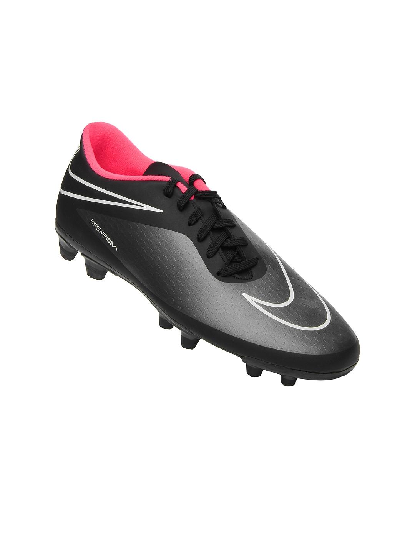 buy nike black hypervenom phade fg football sports shoes