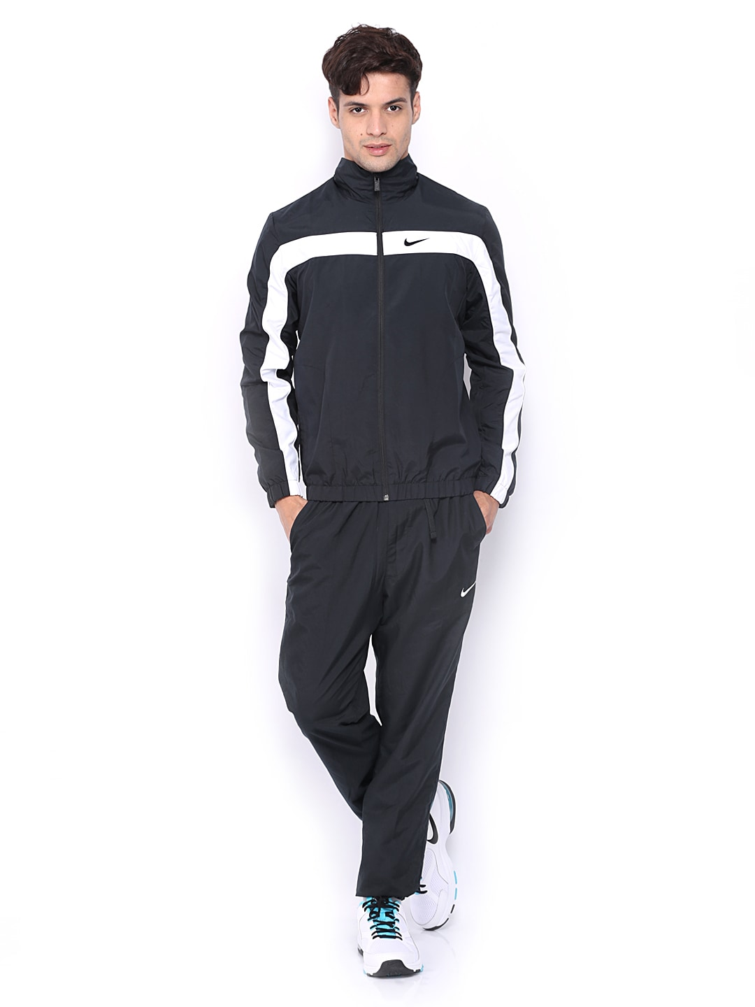 Buy Nike Black Dash Warmup 2 Nsw Tracksuit Apparel For Men
