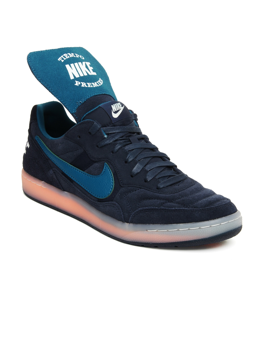 buy nike blue nsw tiempo 94 casual shoes 632