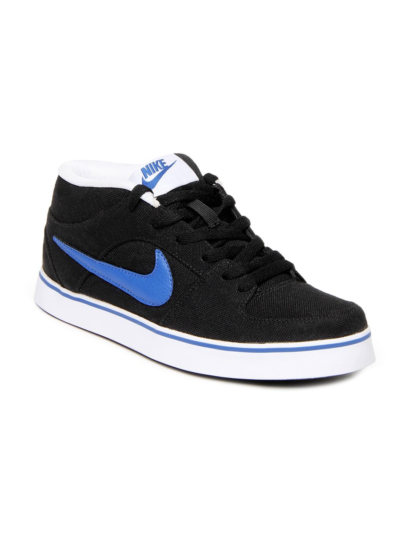 buy nike black liteforce ii mid nsw casual shoes 632